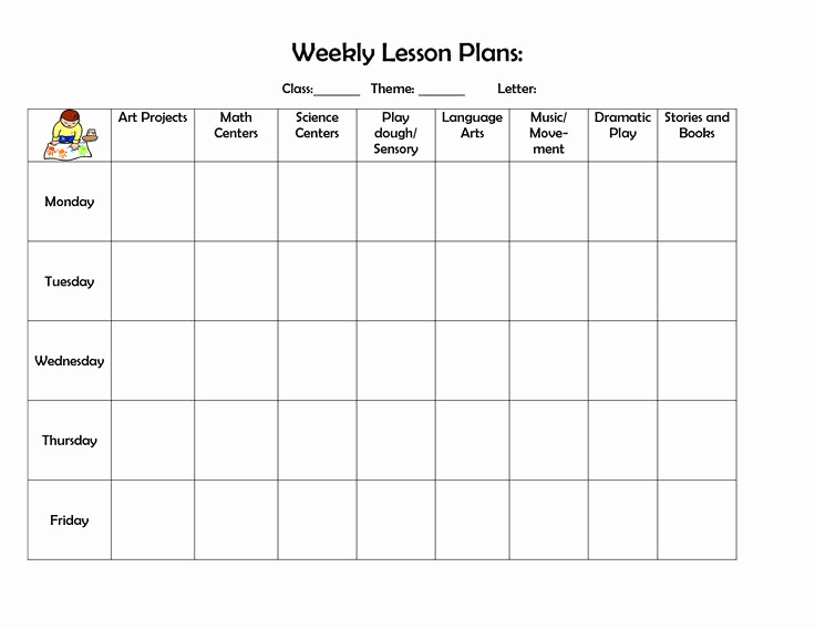 Weekly Lesson Plan Template Pdf Inspirational Best 25 Lesson Plan Templates Ideas On Pinterest