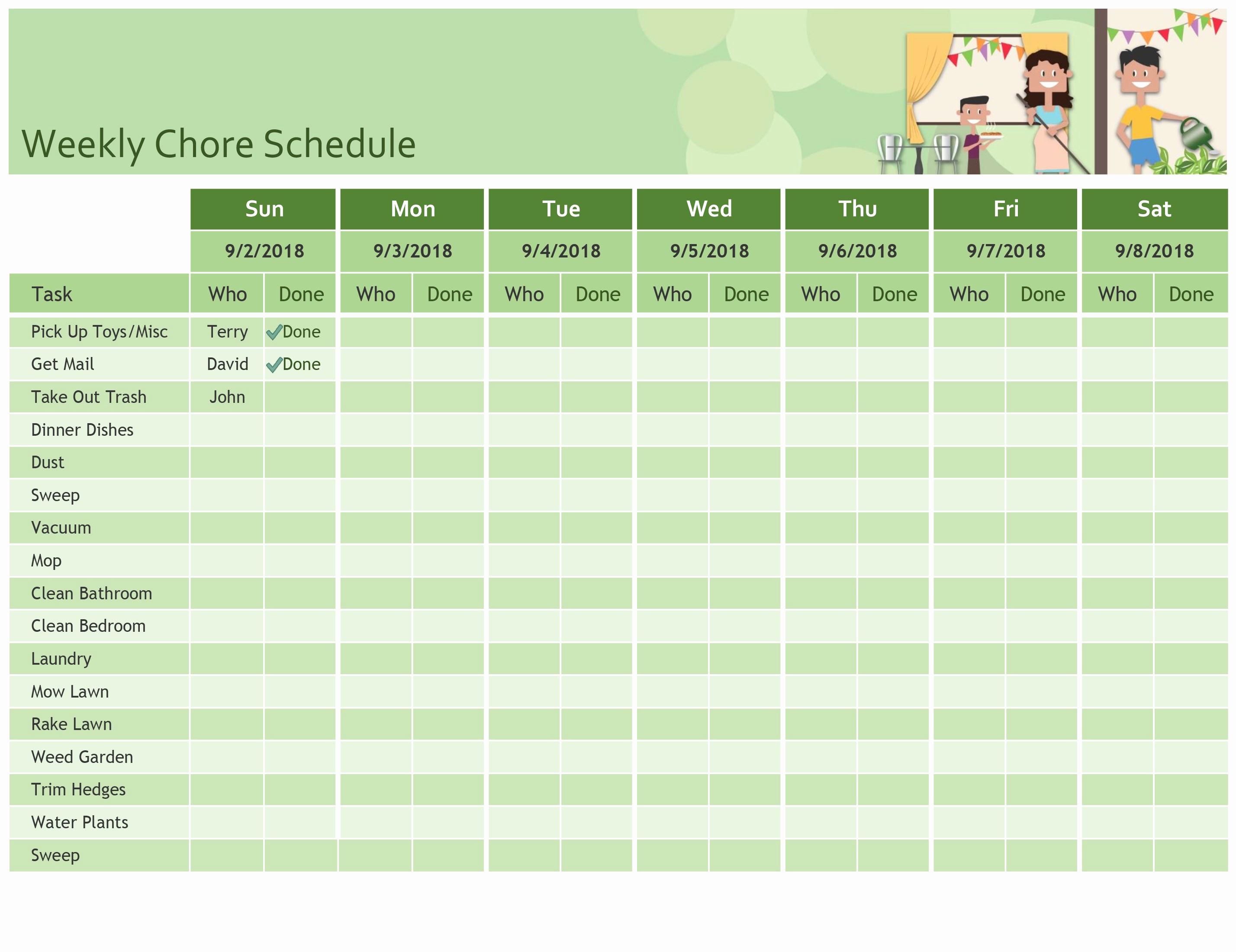 Weekly Schedule Templates Excel New Excel