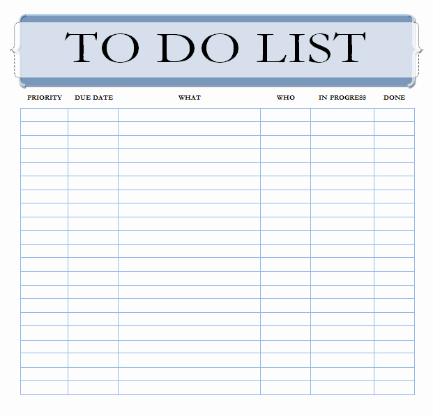 Weekly to Do List Printable Awesome 40 Printable to Do List Templates