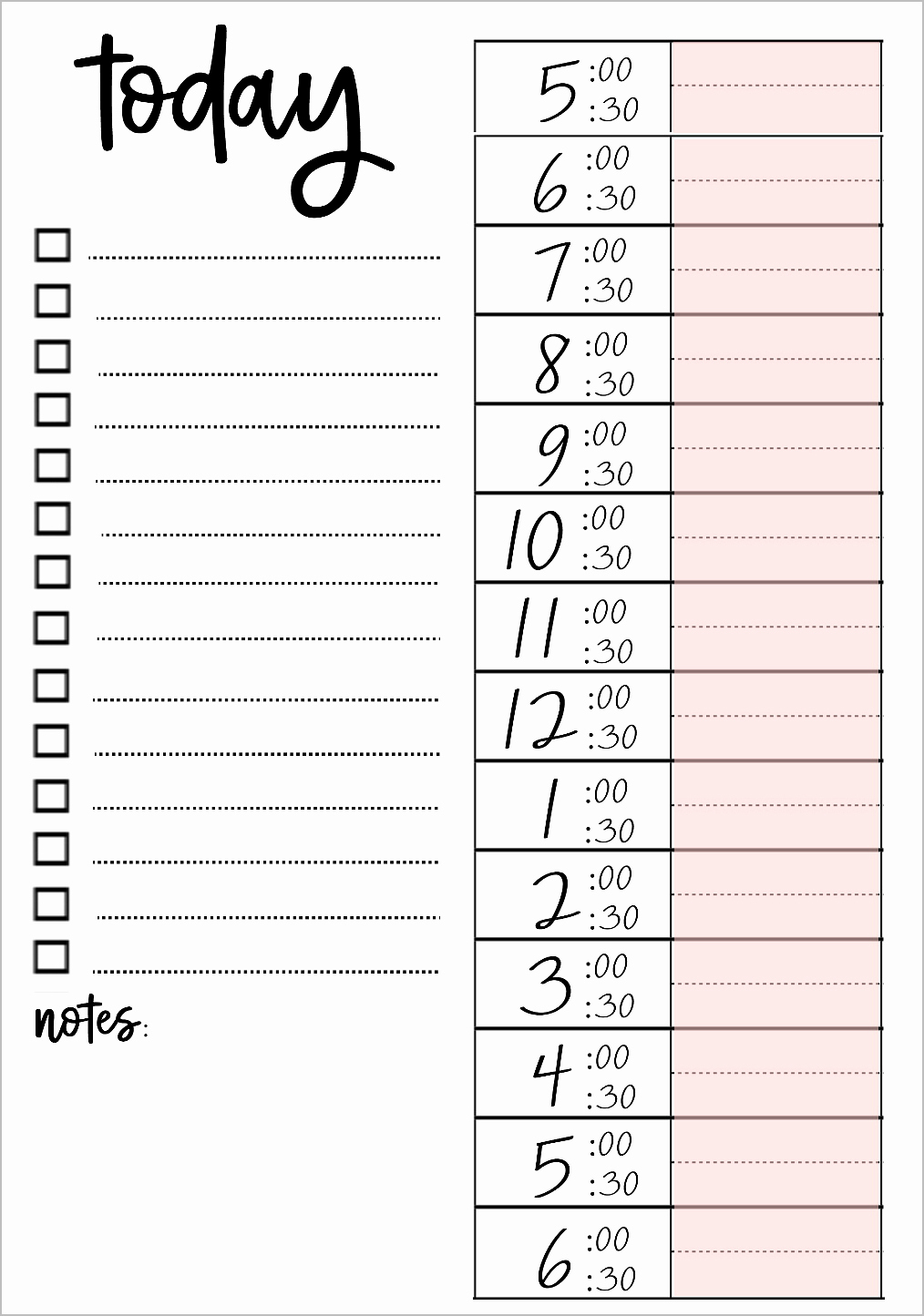 Weekly to Do List Printable Luxury Printable to Do Lists that Work