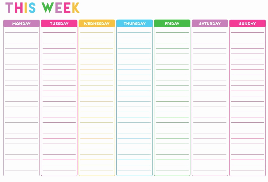 Weekly to Do List Templates Elegant 10 Free Sample Weekly to Do List Templates Printable Samples