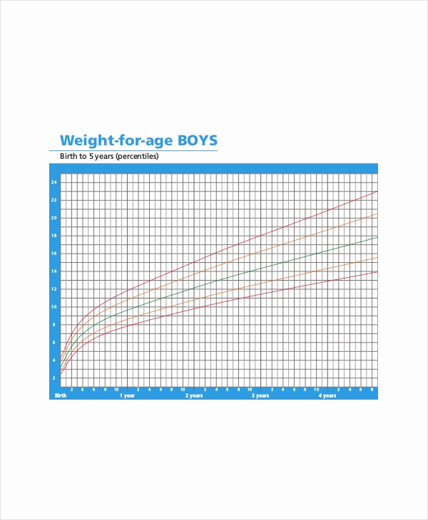 Weight Height Age Charts Unique Height Weight Age Chart 7 Free Pdf Documents Download