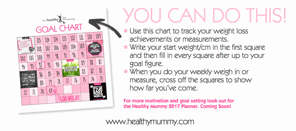 Weight Loss Goal Charts Unique Lose Baby Weight 8 Ways to Improve Motivation