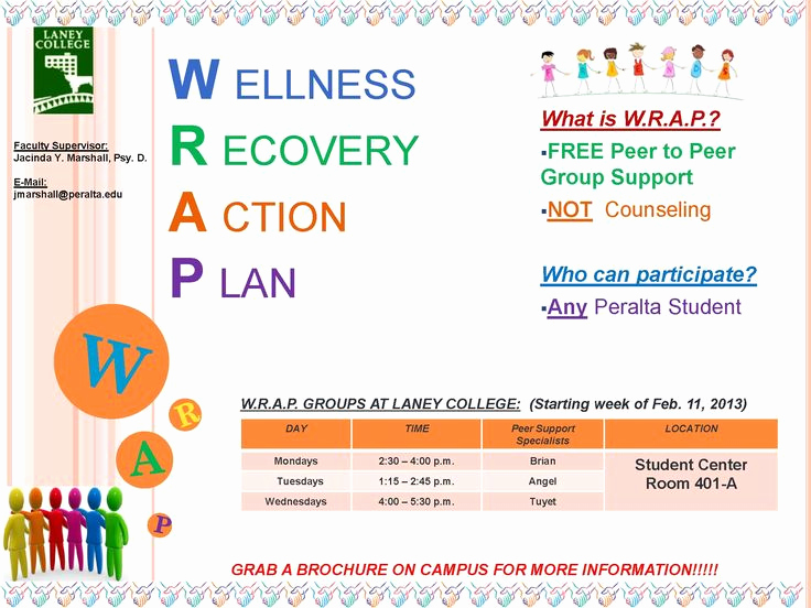 Wellness Recovery Action Plan Pdf Awesome Wellness Recovery Action Plan Worksheet Template