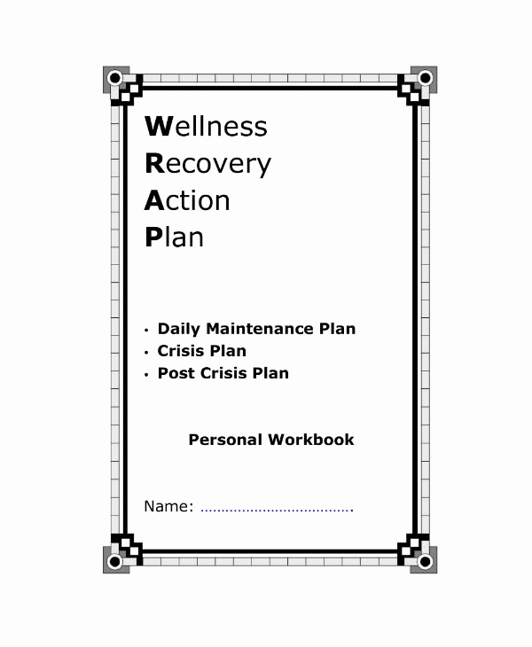 Wellness Recovery Action Plan Pdf Fresh 10 Wellness Recovery Action Plan Templates Pdf