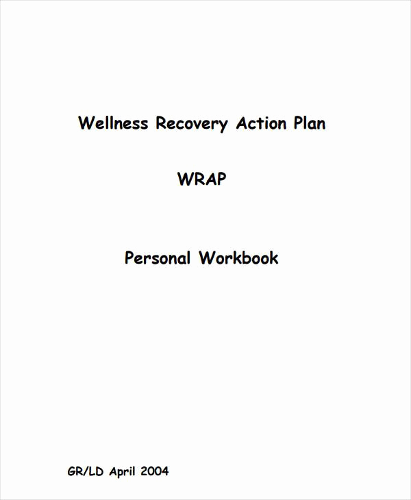 Wellness Recovery Action Plan Pdf Unique 90 Action Plan Templates Word Excel Pdf