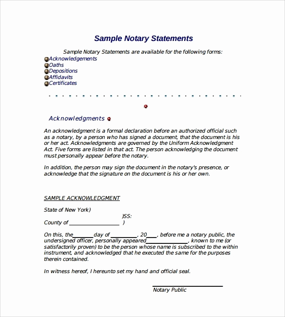What is A Notarized Letter Beautiful How to Get A Letter Notarized 2018