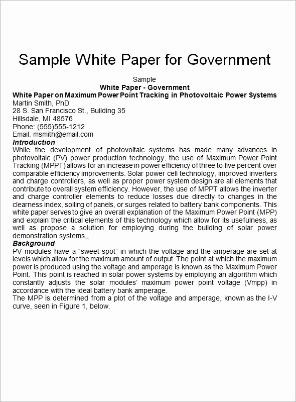 White Paper Examples Pdf Beautiful 13 White Paper Templates – Pdf Word