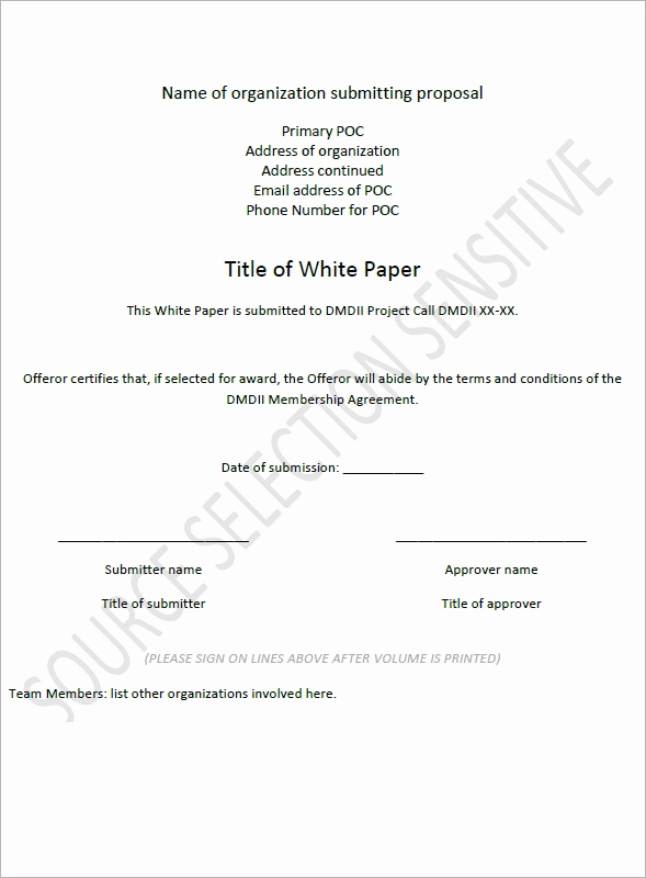 White Paper Examples Pdf Elegant White Paper Templates 9 Download Documents Pdf Word