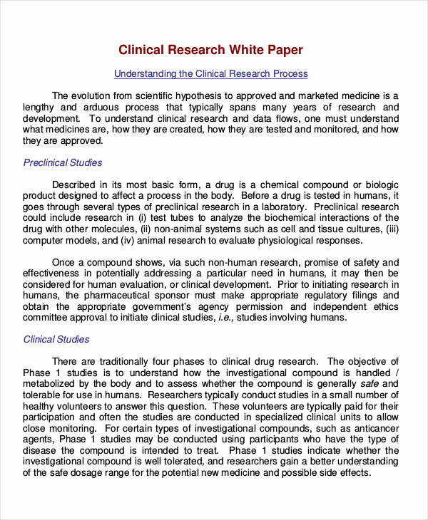White Paper Examples Pdf New 31 White Paper formats