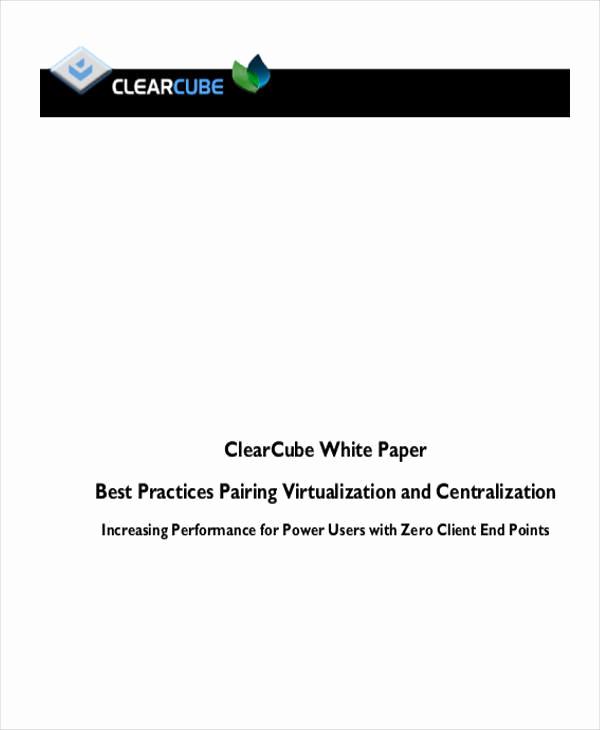 White Paper Examples Pdf Unique 37 Sample White Paper Templates