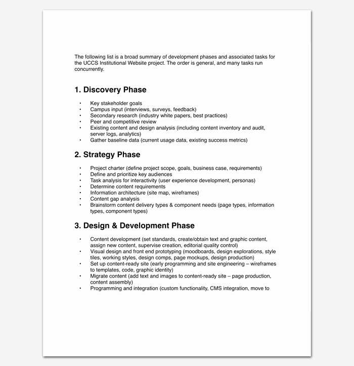 White Paper Outline Template Beautiful Project Outline Template 15 Sample Example format