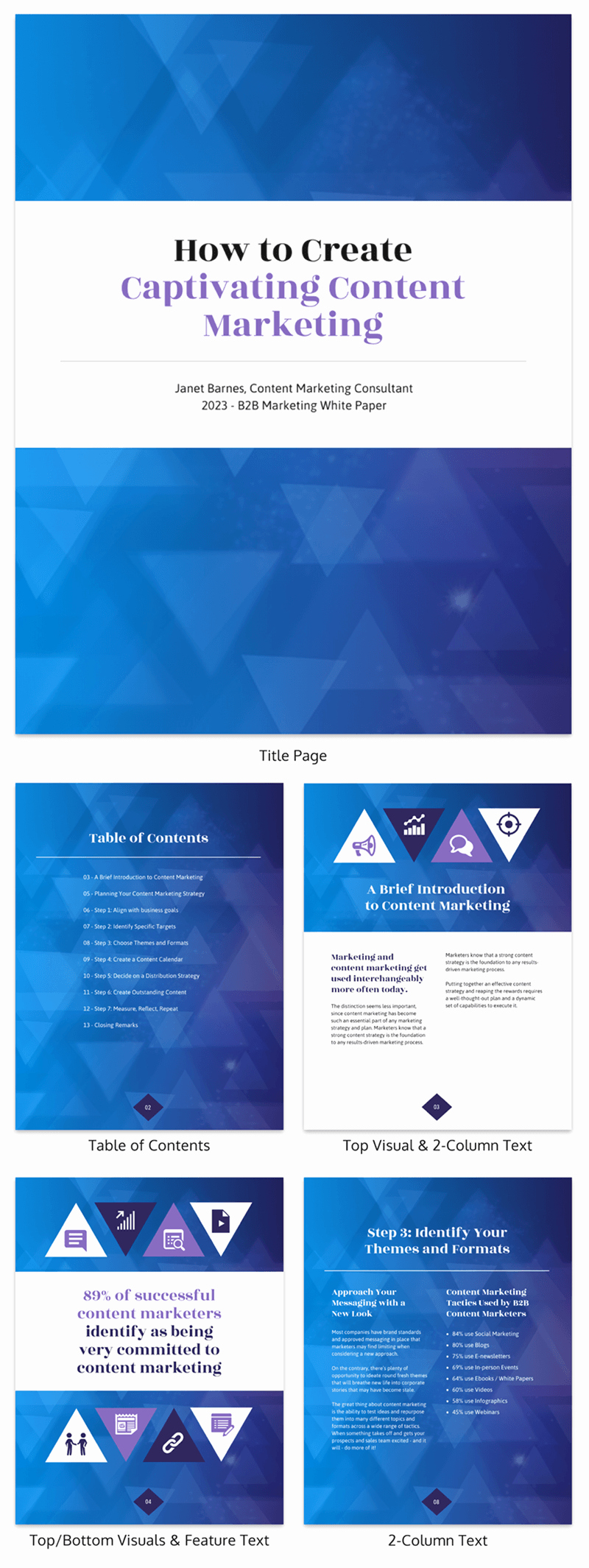 White Paper Template Word Beautiful 20 Page Turning White Paper Examples [design Guide