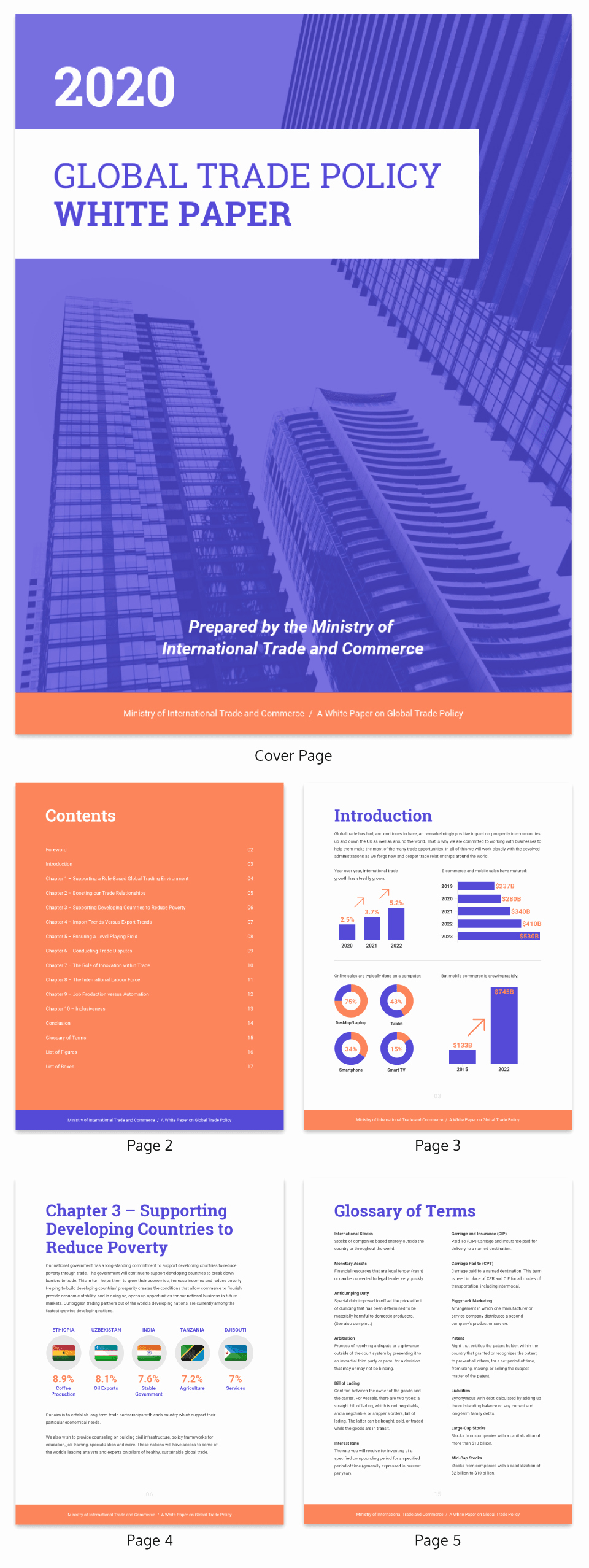 White Paper Template Word New 20 Page Turning White Paper Examples [design Guide