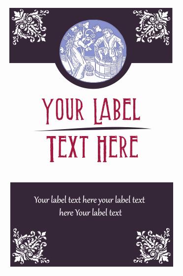 Wine Bottle Label Template Beautiful Free Illustrator Templates for Custom Wine Labels On Behance