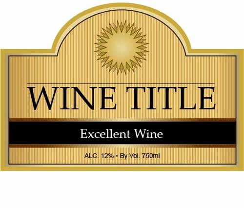 Wine Bottle Label Template Elegant 17 Best Images About Wine Bottle Labels On Pinterest