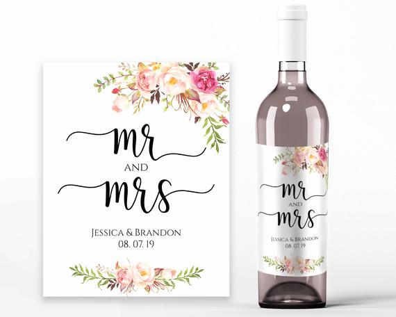 wedding wine labels wedding wine