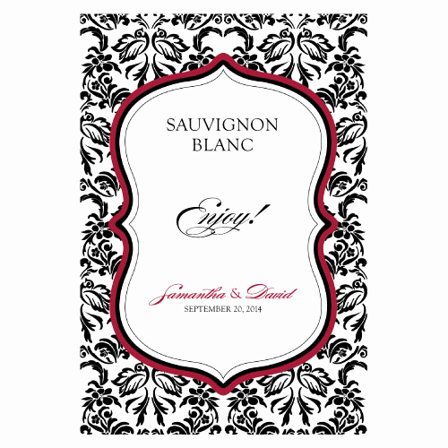 Wine Bottle Label Template Inspirational Personalized Wine Labels Custom Wine Labels