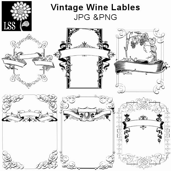 Wine Bottle Label Template Luxury 17 Best Labels Images On Pinterest