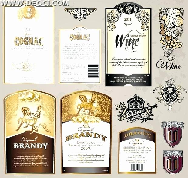 Wine Bottle Label Template Luxury Free Wine Bottle Label Template Picture – Diy Bridesmaids