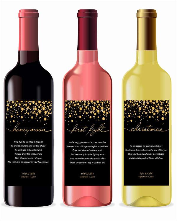 Wine Bottle Label Template Unique Wine Label 22 Free Psd Vector Ai Eps format Download