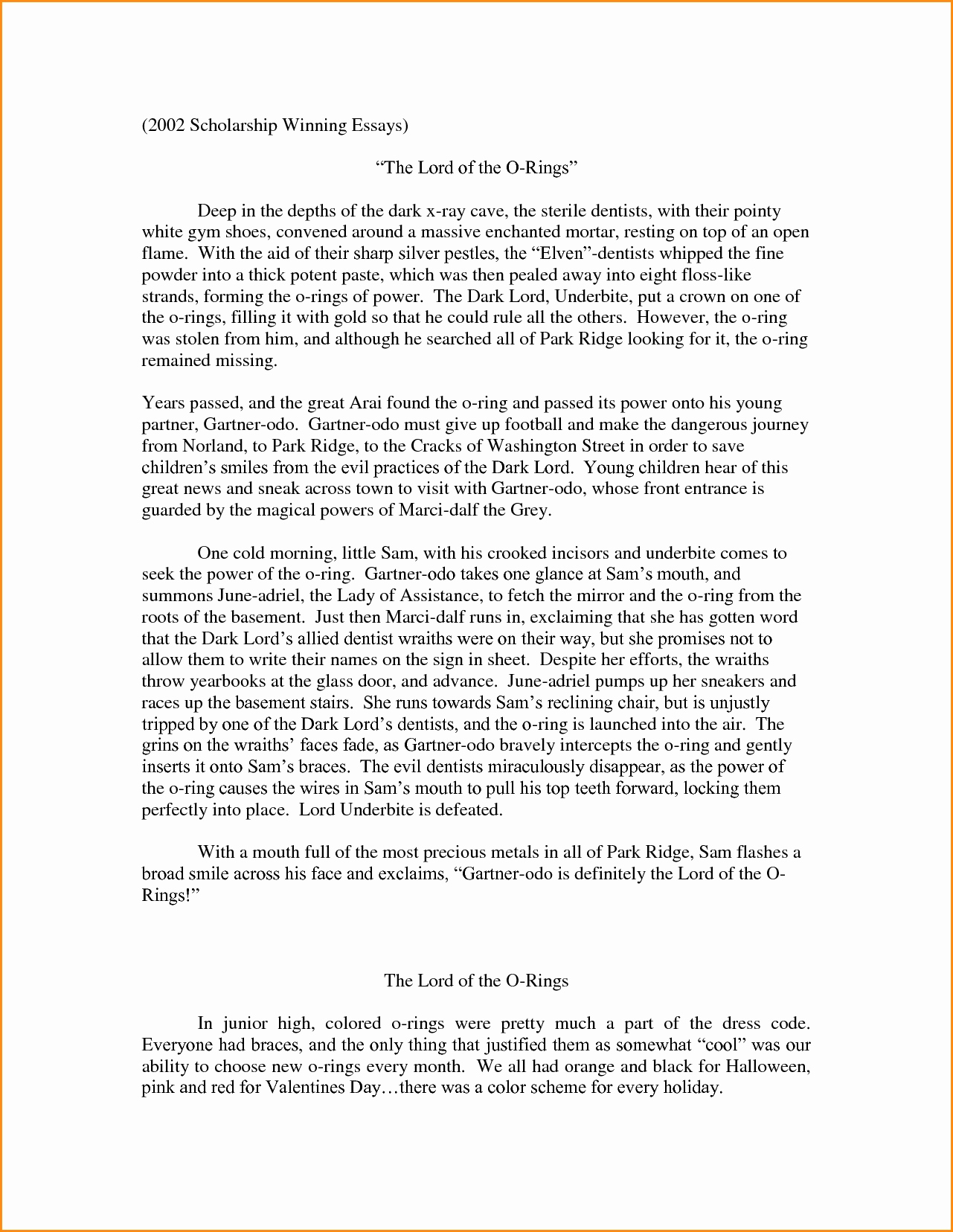 Winning Scholarship Essay Examples Awesome 3 4 Scholarships Letter Example