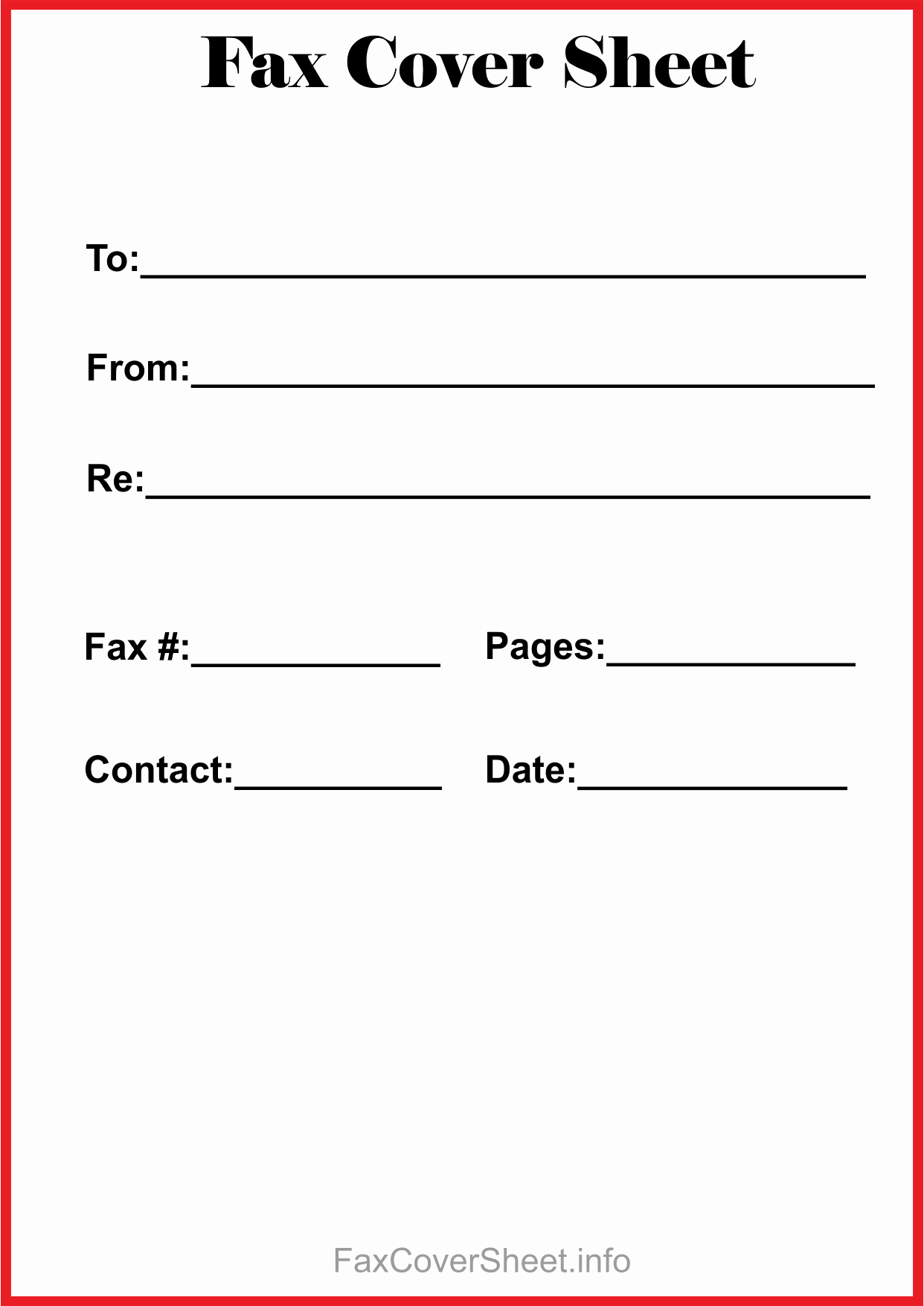 Word Fax Cover Sheet Fresh Free Fax Cover Sheet Template Download