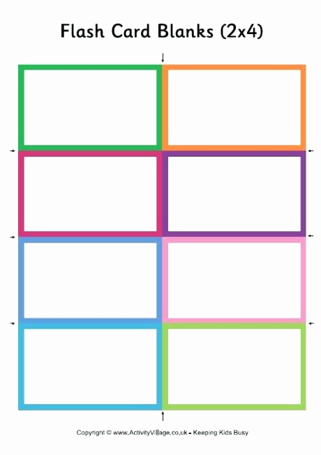 Word Flash Card Template New Printable Blank Cards Vsmetalsgroup
