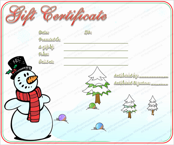 Word Gift Certificate Template Best Of 20 Christmas Gift Certificate Templates Word Pdf Psd