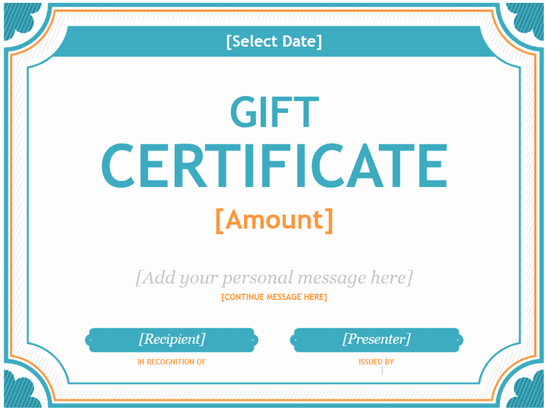 Word Gift Certificate Template Fresh 173 Free Gift Certificate Templates You Can Customize