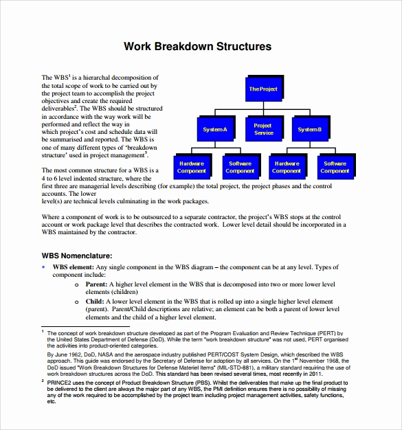 Work Breakdown Structure Template Excel Awesome E Template 12 Download Documents In Pdf Wordwork