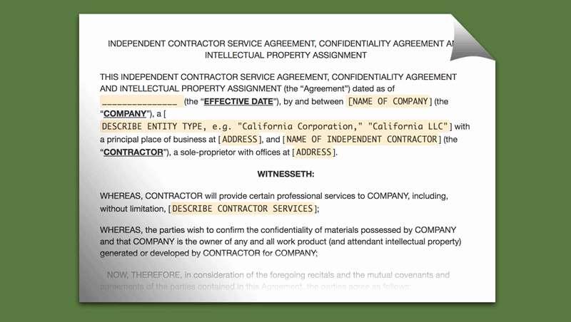 Work for Hire Agreement Template Luxury Best Work for Hire Agreement Templates Templatesp