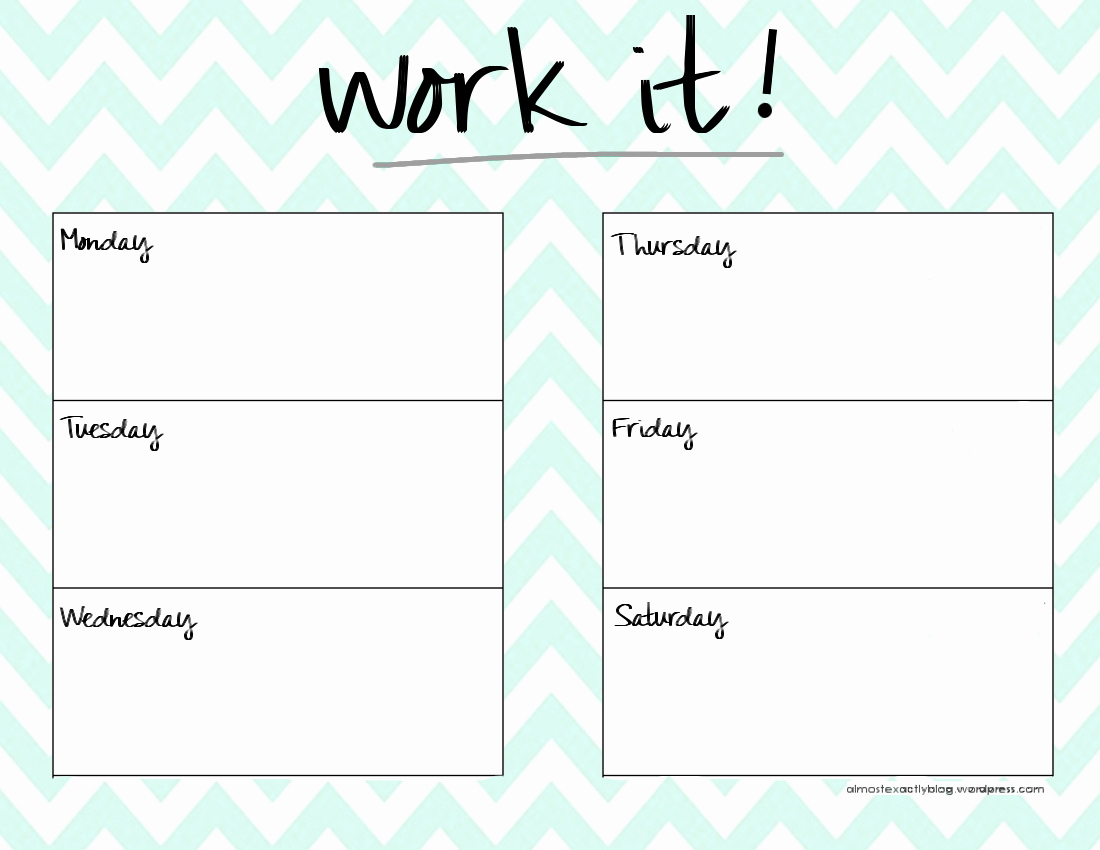 Work Out Schedule Templates Elegant Page Not Found