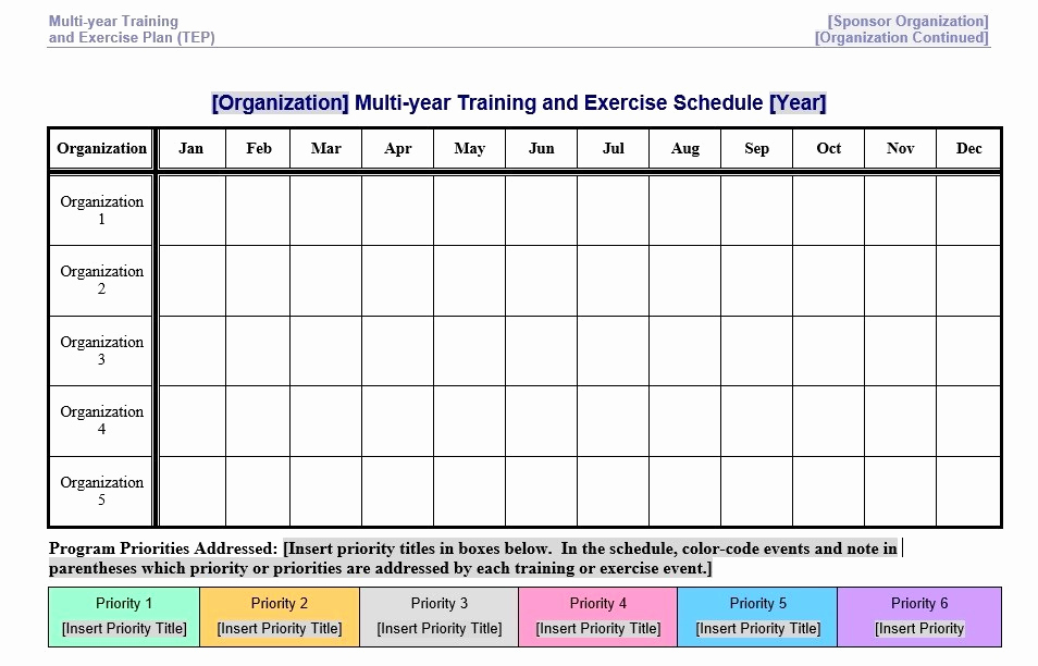 Work Out Schedule Templates New 8 Free Sample Exercise Schedule Templates Printable Samples