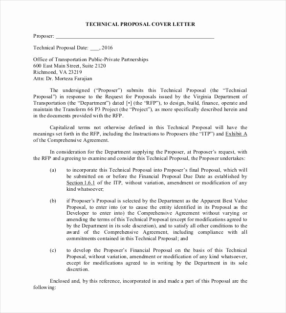 Writing A Proposal Letter Best Of 33 Proposal Letter Templates Doc Pdf