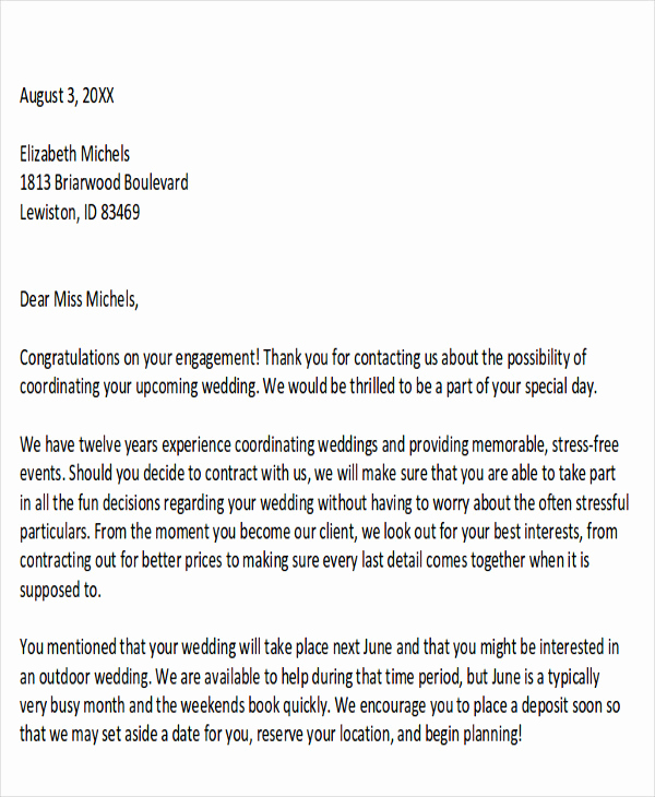 Writing A Proposal Letter Lovely 10 Sample event Proposal Letters Pdf Word