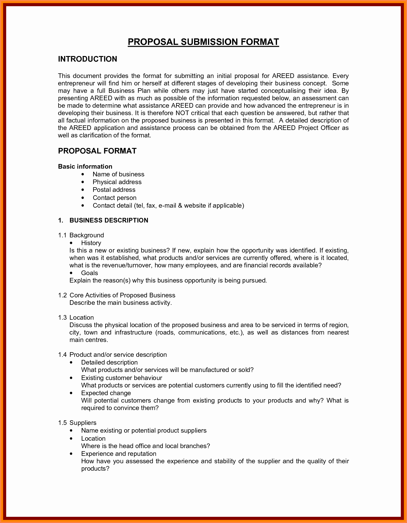 Writing A Proposal Letter Lovely 6 How to Write A Business Proposal Sample