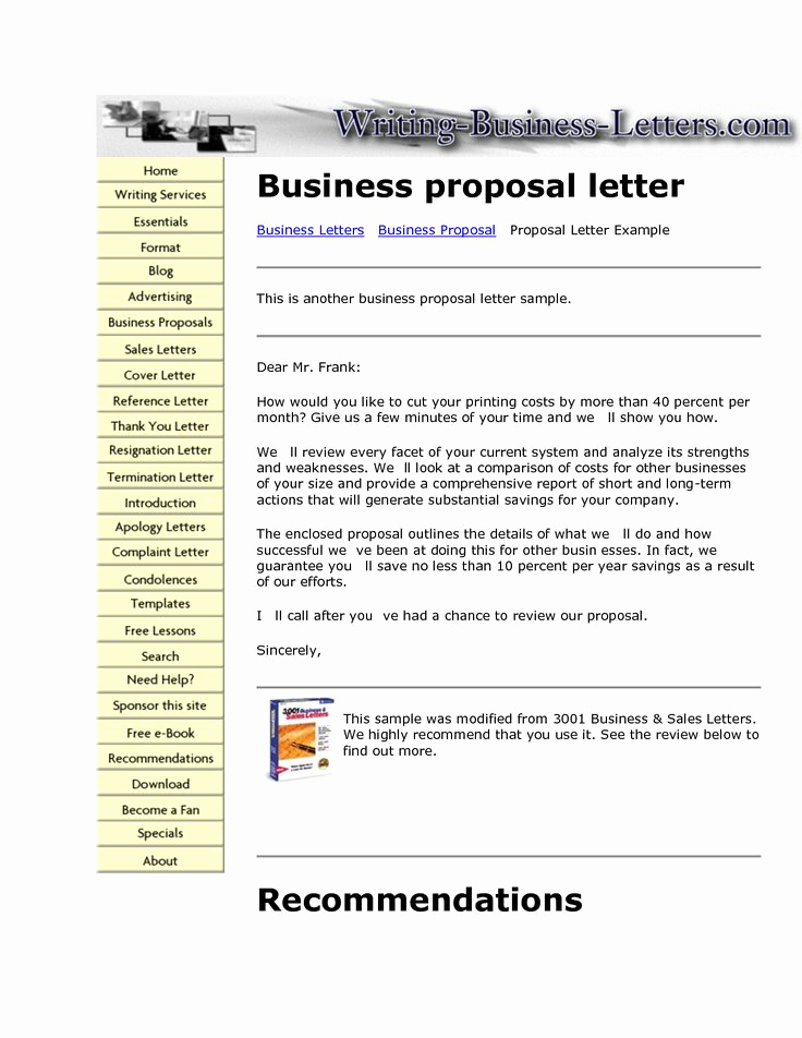 Writing A Proposal Letter Luxury Best 25 Sample Of Proposal Letter Ideas On Pinterest