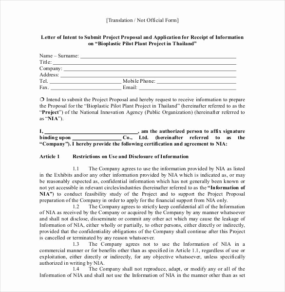 Writing A Proposal Letter New 33 Proposal Letter Templates Doc Pdf