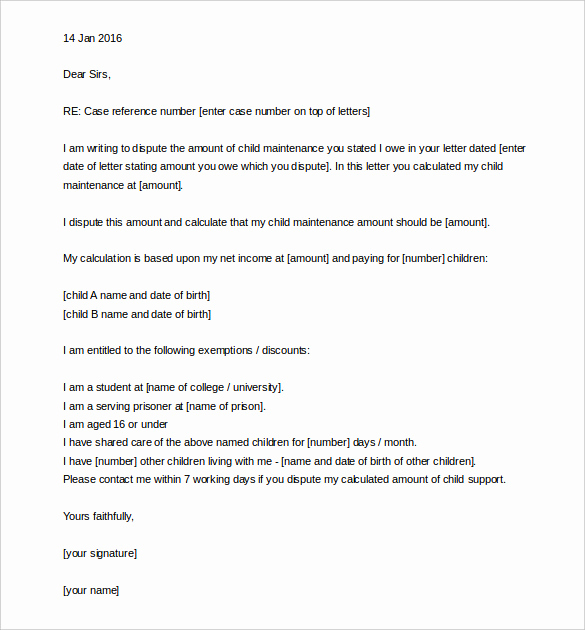 Writing An Appeal Letter Best Of 17 Appeal Letter Templates Free Sample Example format