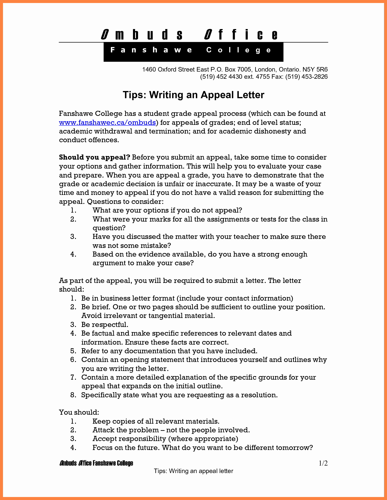 Writing An Appeal Letter Elegant 7 How to Write An Appeal Letter for College