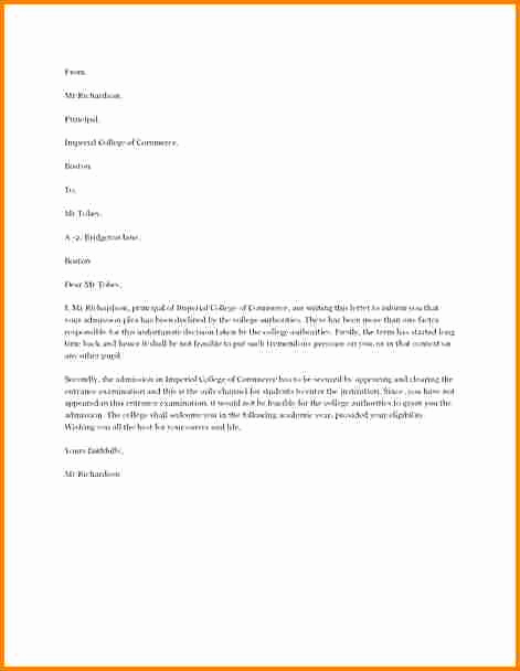 Writing An Appeal Letter Inspirational 5 How to Write An Appeal Letter for College Rejection