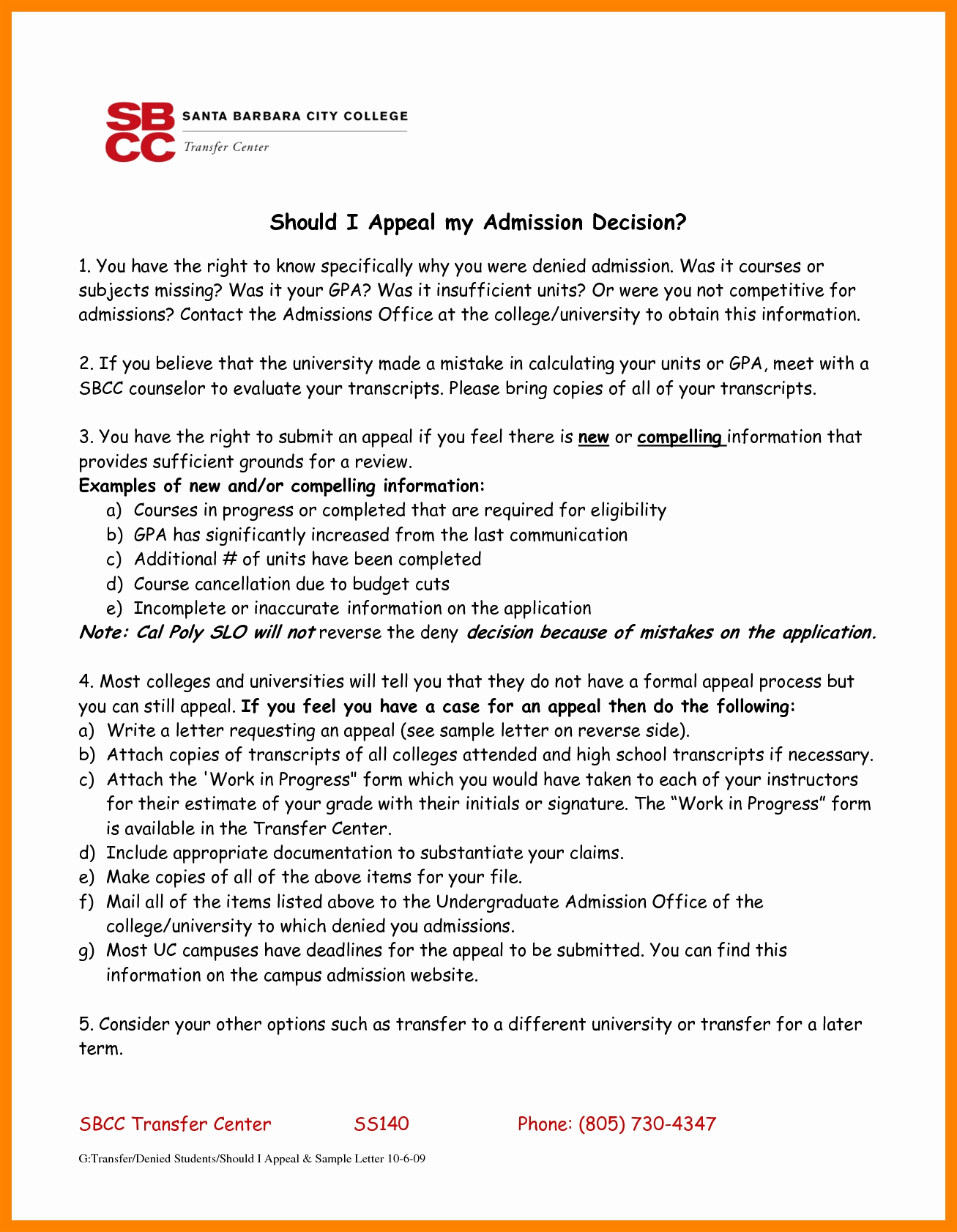 Writing An Appeal Letter New 6 How to Write An Appeal to A College