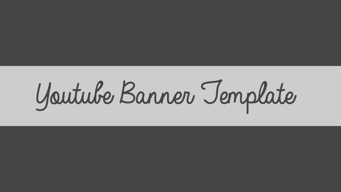 Youtube Banner Template No Text Elegant Youtube Banner Template by Naralilia On Deviantart