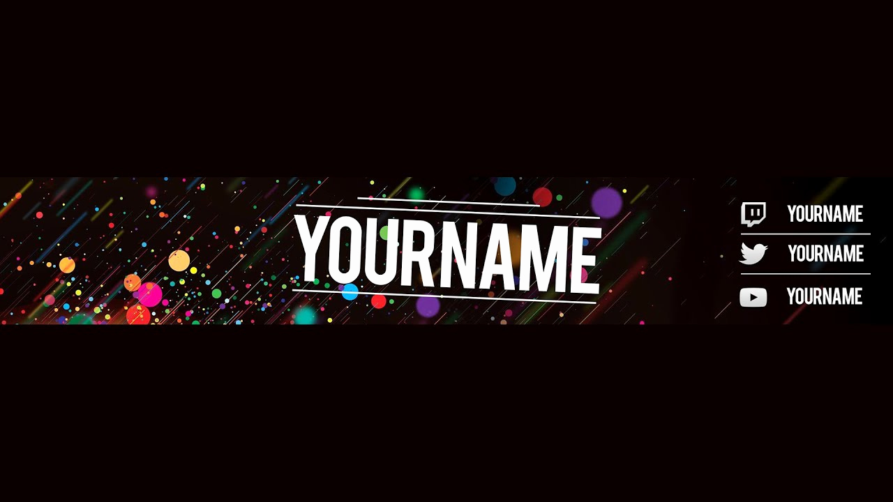 Youtube Banner Template No Text Lovely Free Youtube Banner Template