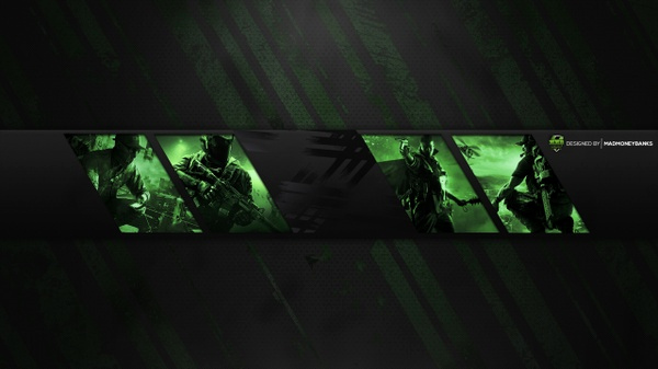Youtube Banner Template No Text Lovely Madmoneybanks Sellfy