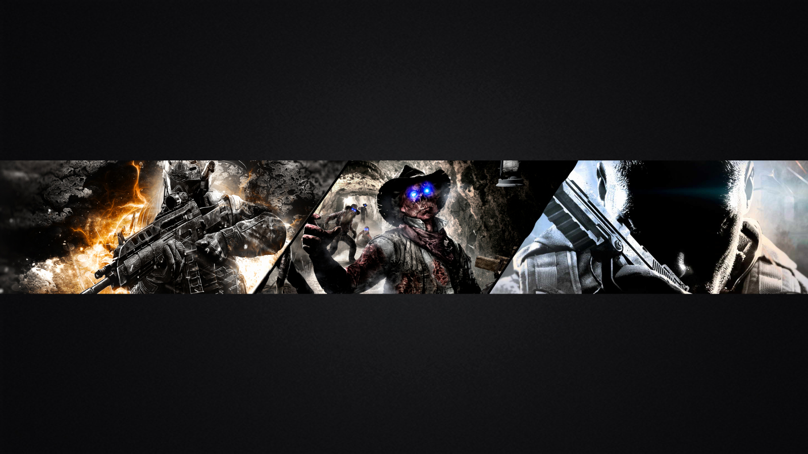 Youtube Banner Template No Text Lovely Psd Cod Channel Art