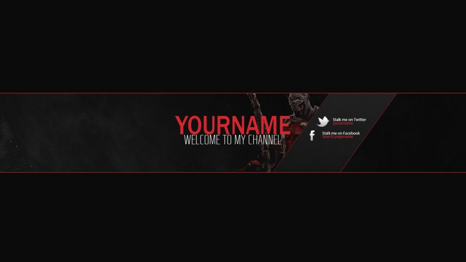 Youtube Banner Template No Text Unique Youtube Banner Templates