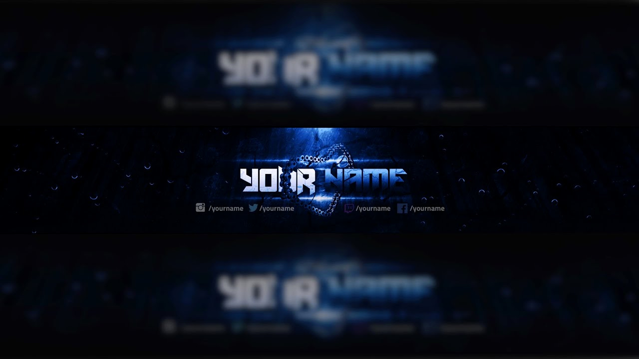 Youtube Banner Template Photoshop Awesome Free Youtube Banner Template Design Shop Download