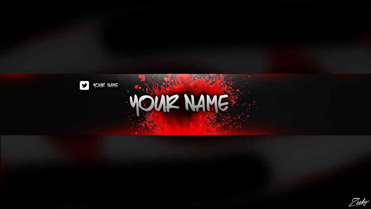 Youtube Banner Template Photoshop Awesome Shop Red Banner Template